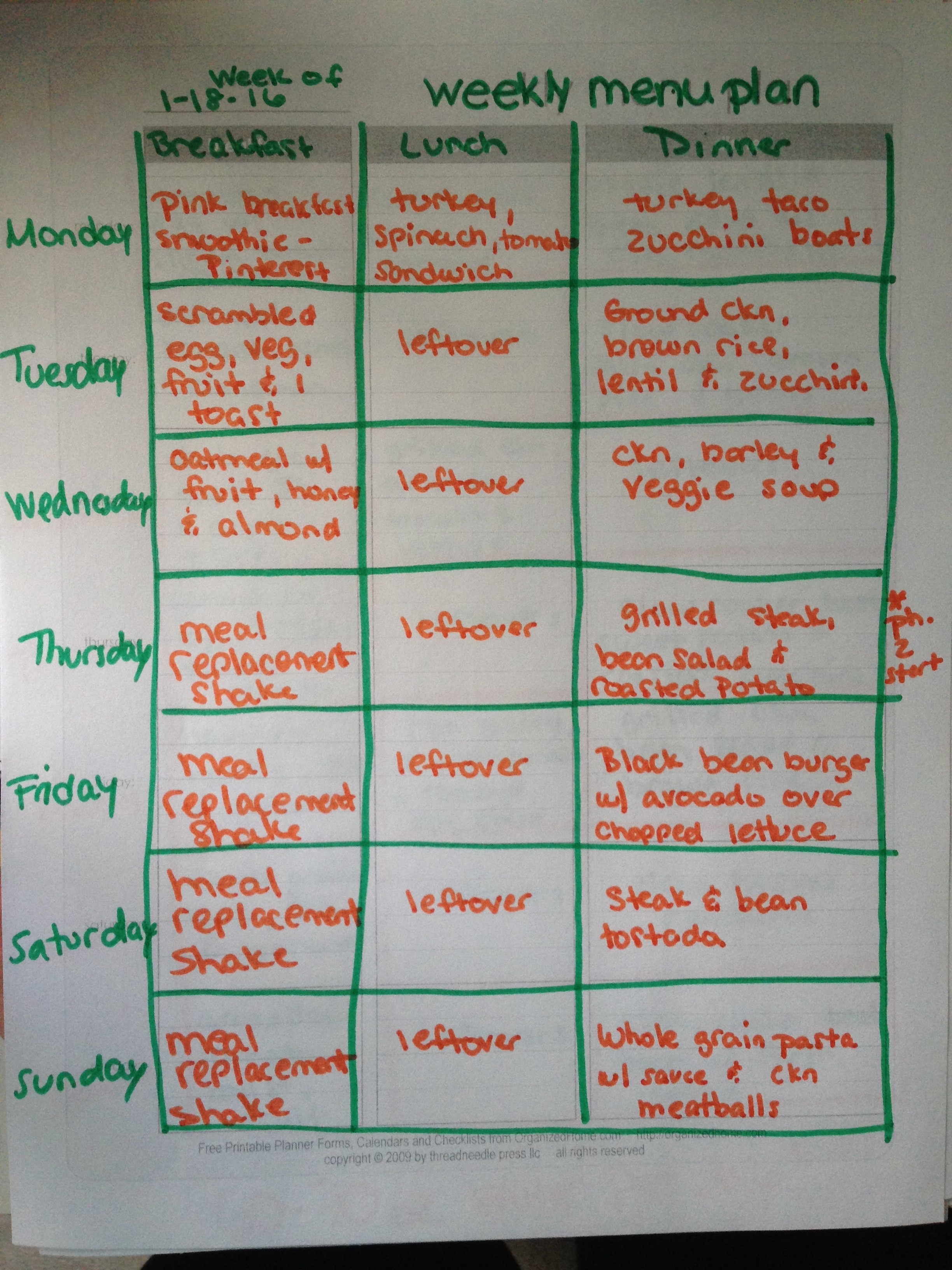 Diet plan for healthy life - Two Week Clean Eating Meal Plan Lemoine Family Kitchen Clean Healthy Eating Made