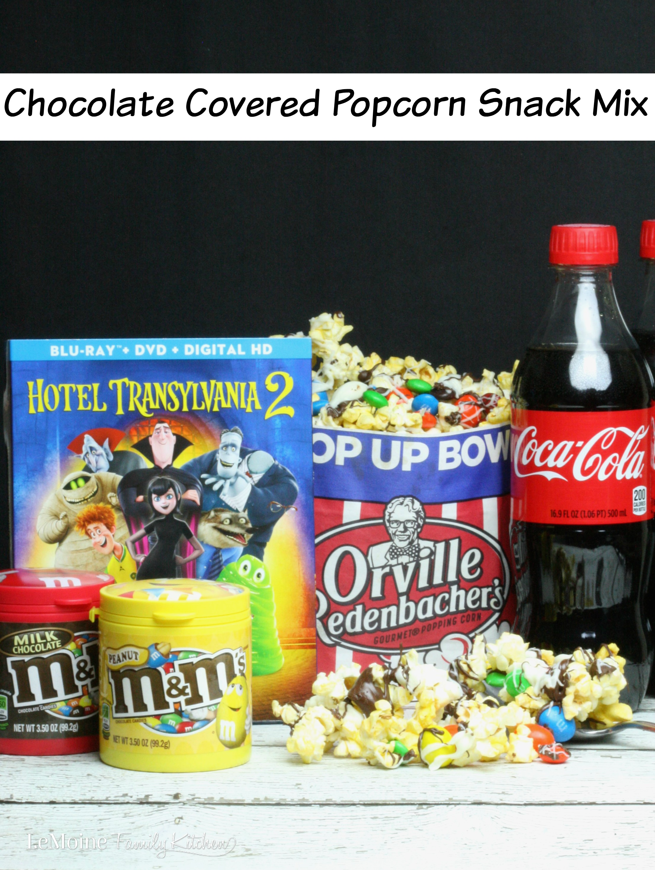 Chocolate Covered Popcorn Snack Mix