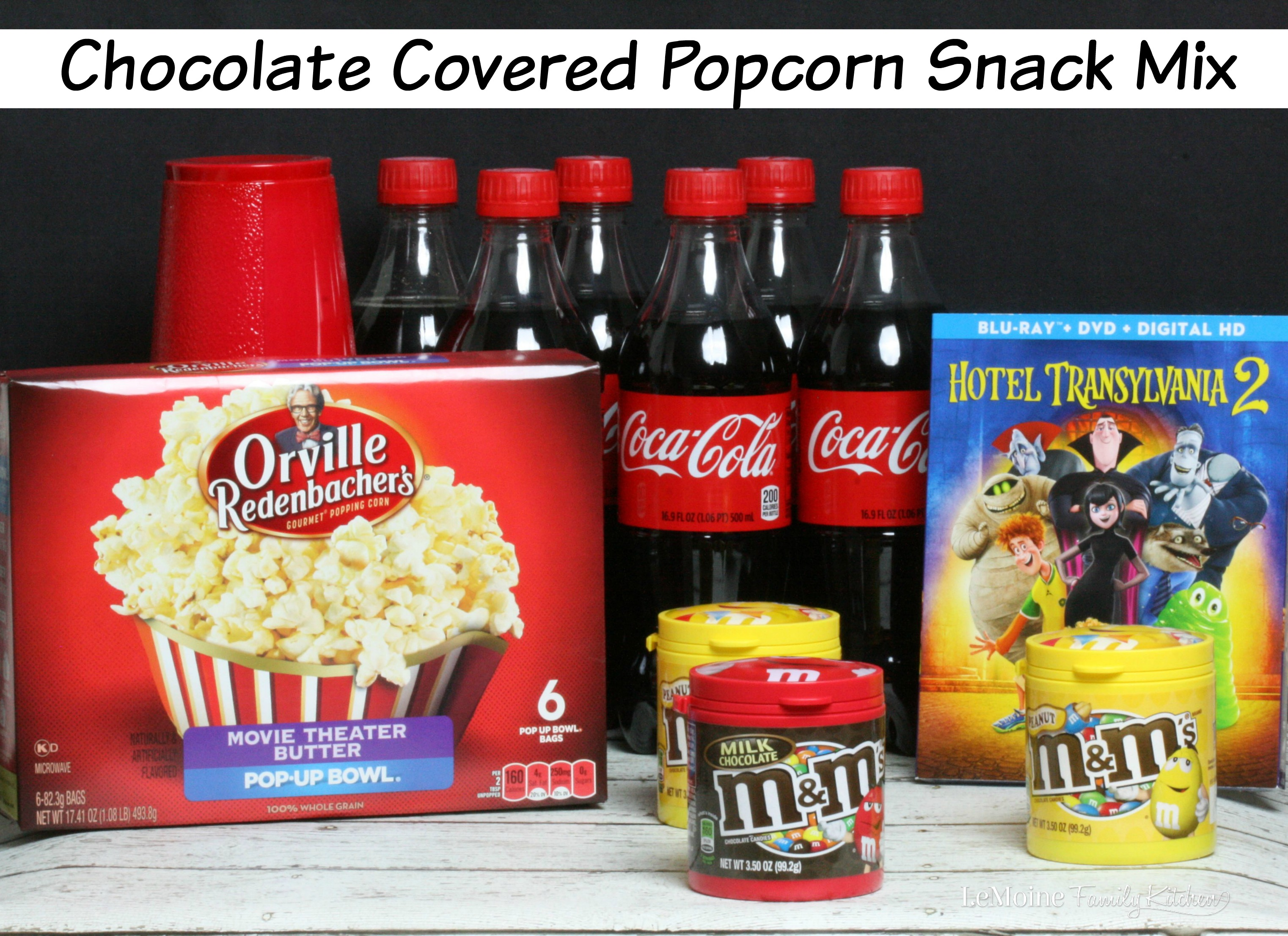 Chocolate Covered Popcorn Snack Mix Lemoine Family Kitchen