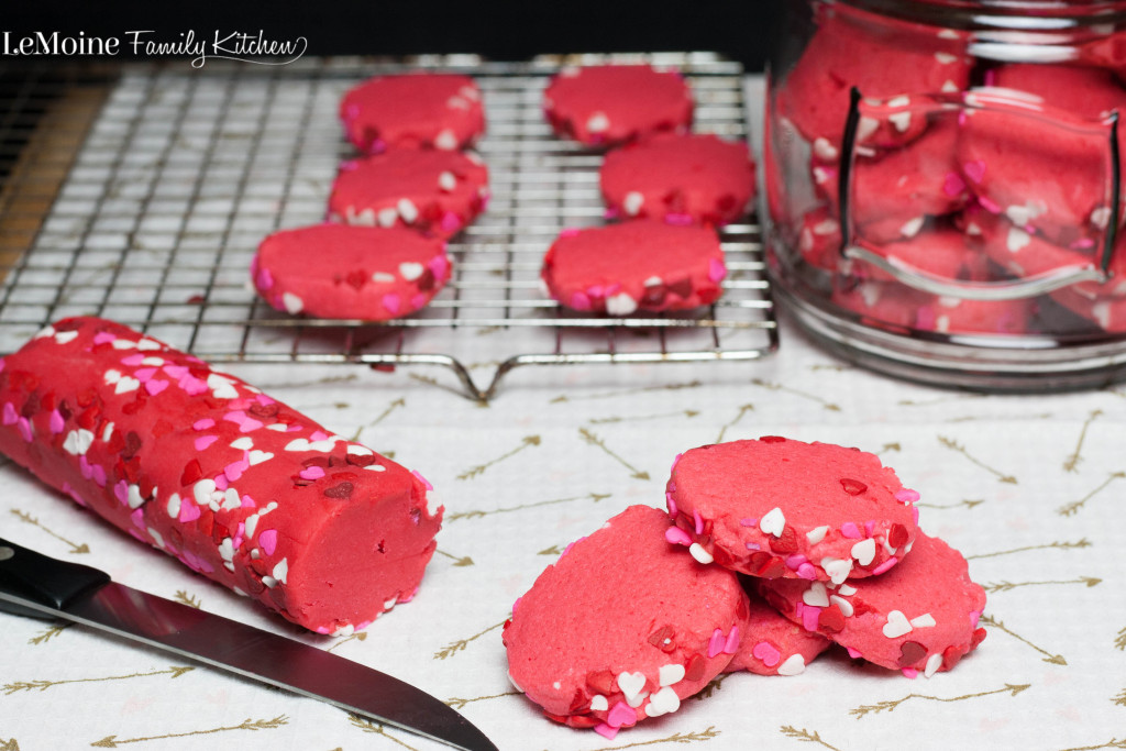 Valentine's Day Sugar Cookie | LeMoine Family Kitchen. The perfect sweet treat for the ones you love! This is a super easy cookie recipe and they are just delicious and FUN!