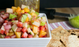 Fresh Fruit Salsa with Lime & Honey
