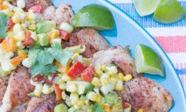 Cajun Grilled Chicken with Summer Corn Salad