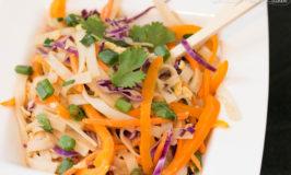 15 Minute Vegetable Thai Peanut Noodles