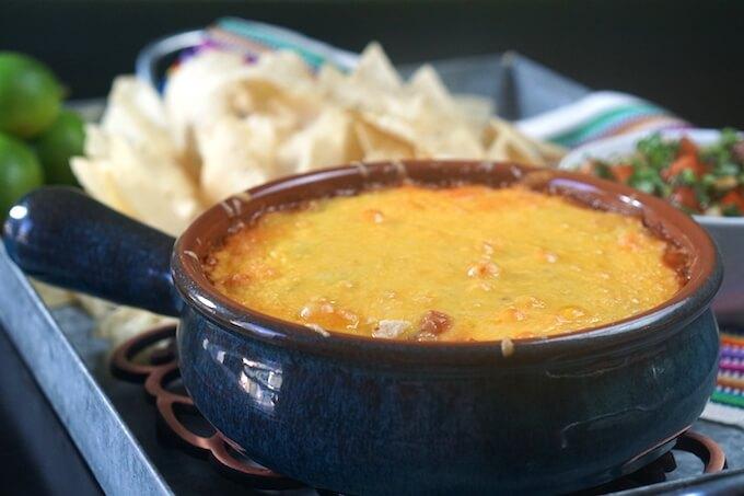 Easy Cheesy Salsa Dip