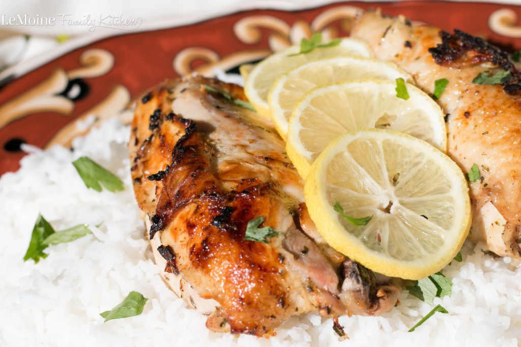 Roasted Lemon Oregano Chicken - LeMoine Family Kitchen