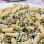 Rigatoni with Sausage & Broccoli Rabe