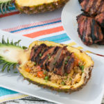 Grilled Pork with Pineapple Fried Rice
