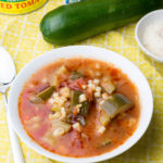 Italian Zucchini & Tomato Soup