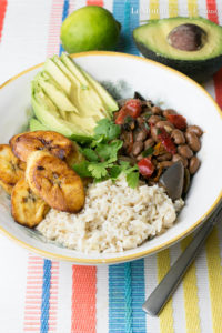 Cuban Rice & Beans Bowl