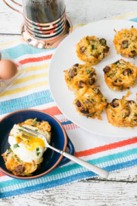 Sausage Hash Brown Nests