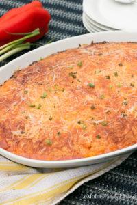 Pork Enchilada Cornbread Bake