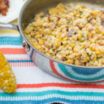 Creamy Skillet Corn with Bacon