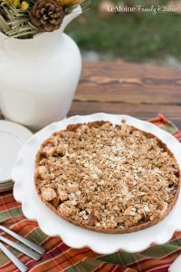 Dutch Caramel Apple Tart