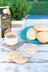 Sweet Biscuits with Honey Cinnamon Butter
