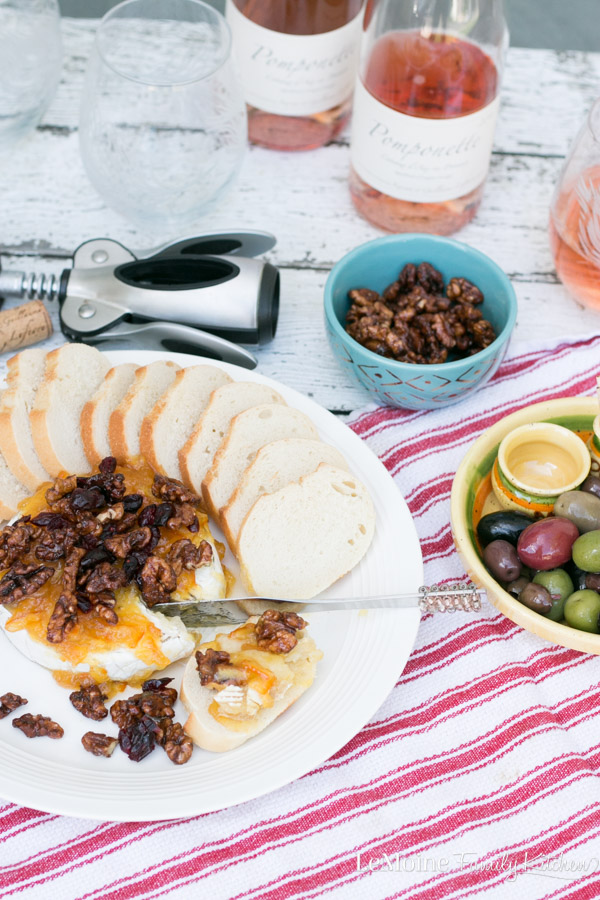 Fall is such a beautiful time of year. The crisp chill in the air, the gorgeous colors on the trees and the flavors of the season. ThisBaked Brie with Orange Marmalade, Walnuts & Cranberries is a wonderfully delicious Fall inspired appetizer that happens to pair perfectly withRosé Wines of Provence. {ad} #FallintoRosé #Roséallyear