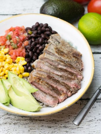 Tex Mex Steak Bowl