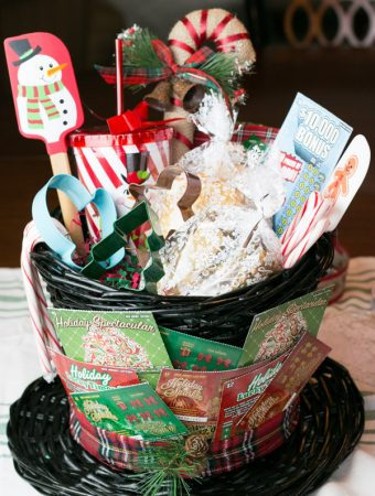 Baking Lovers Gift Basket with NJ Lottery