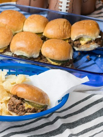 Game Day Sloppy Joe Sliders