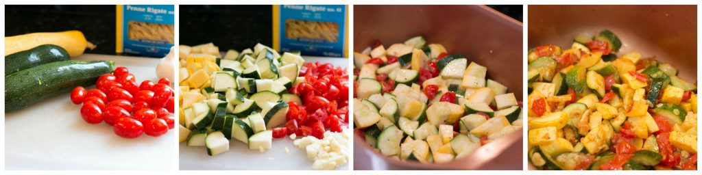 Summer produce is just amazing- especially when you can buy local. The flavor is so incredible! I've used some of my favorites of the season in this Summer Vegetable Pasta Bake.  The vegetables are bright, the sauce is so flavorful and creamy and the pasta perfectly cooked all made really easy thanks to the Wonder Cooker!