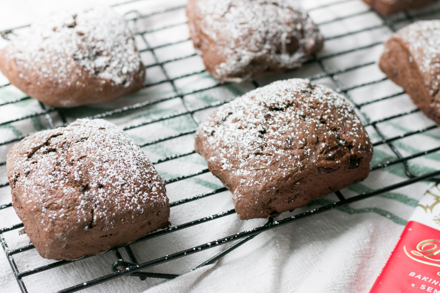 Scones are one of my very favorite baked goods to make. They are so easy, quick and the variety possibilities are endless! Today Im sharing with you my latest.... Double Chocolate Scones! I know, drool worthy right? Chocolate base plus lots of chocolate chunks in there as well. Breakfast, afternoon snack or dessert these scones are perfect! #choctoberfest 2018