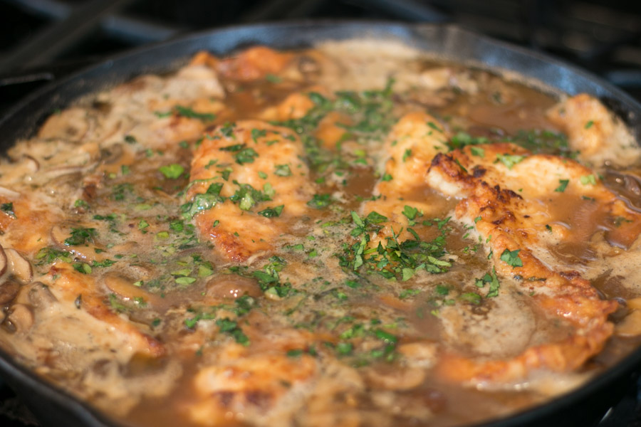 There are so many classic Italian dishes I grew up eating that are just so comforting to me- like this Classic Chicken Marsala. The chicken is so tender and that sauce is absolutely luscious with its rich flavors from the Marsala wine.