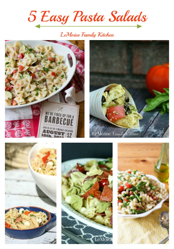 5 Easy Pasta Salads