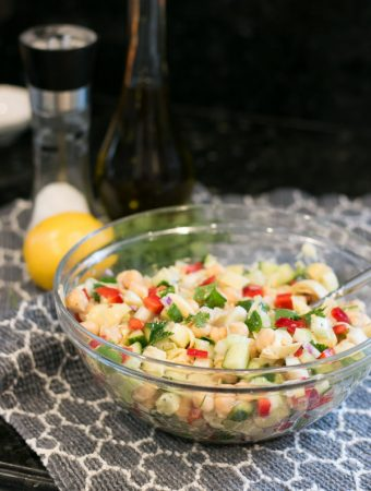 Lemon Chickpea Salad