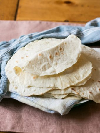 Easy Homemade Flour Tortilla