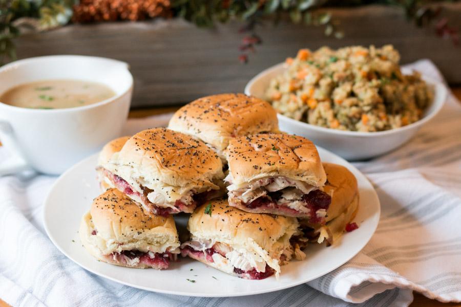 Turkey & Cranberry Sliders
