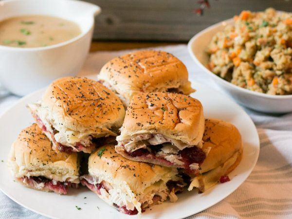 Turkey & Cranberry Sliders