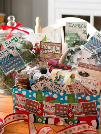 Breakfast Lovers Gift Basket With NJ Lottery