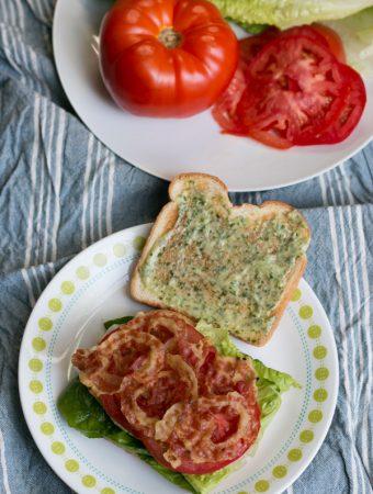 Pancetta, Lettuce and Tomato