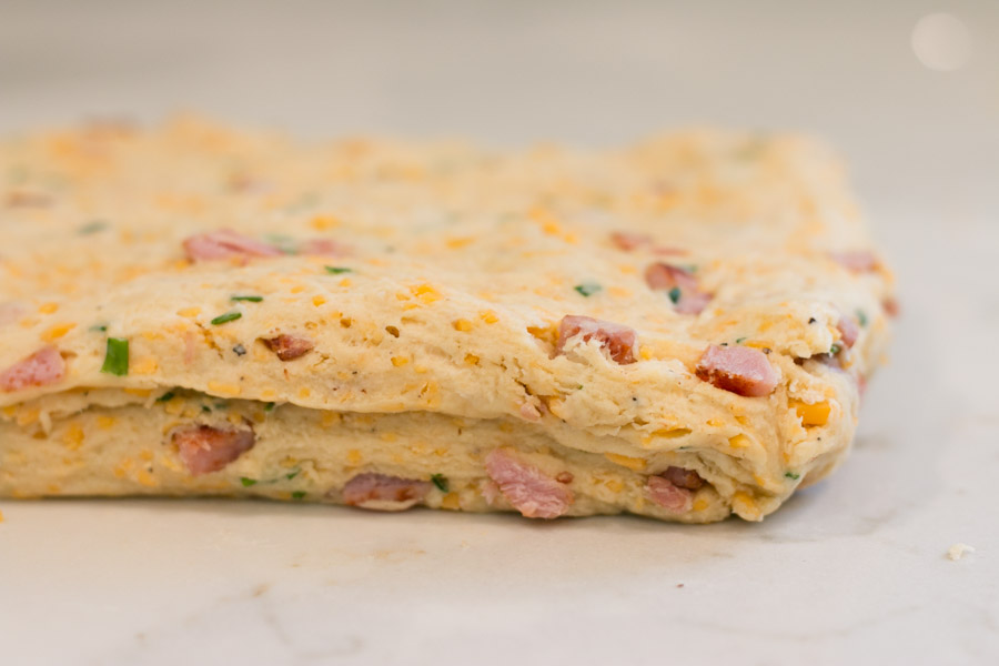 Ham, Cheddar & Chive Biscuits